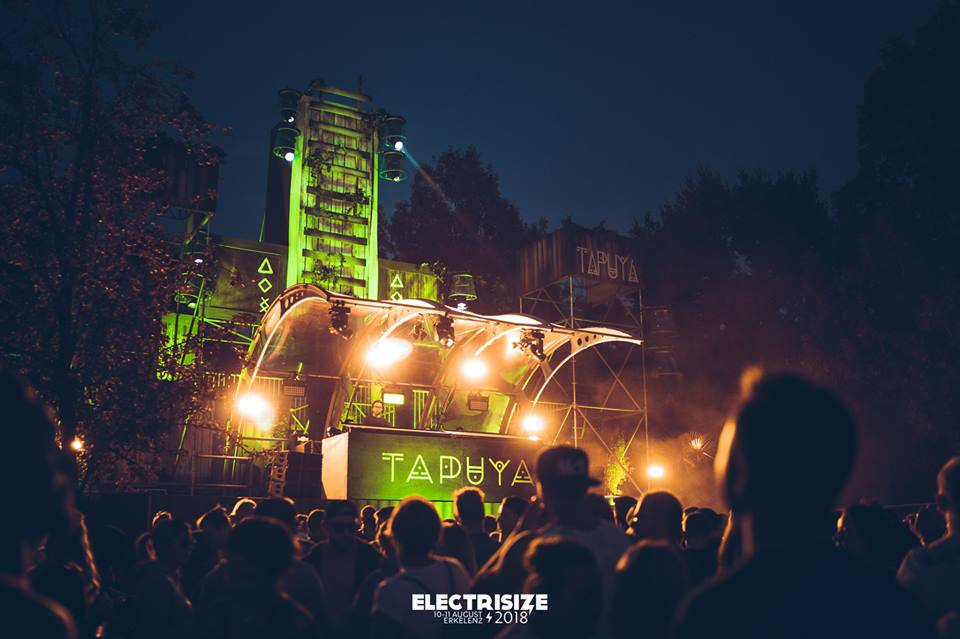 Tapuya Stage Electrisize Festival 2018