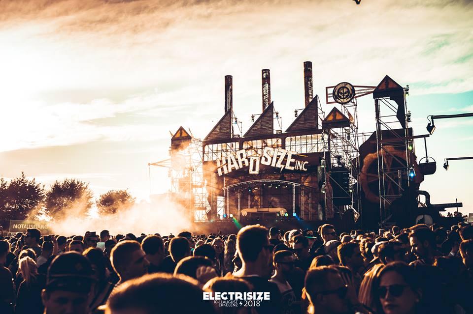 Hardsize Stage Electrisize Festival 2018
