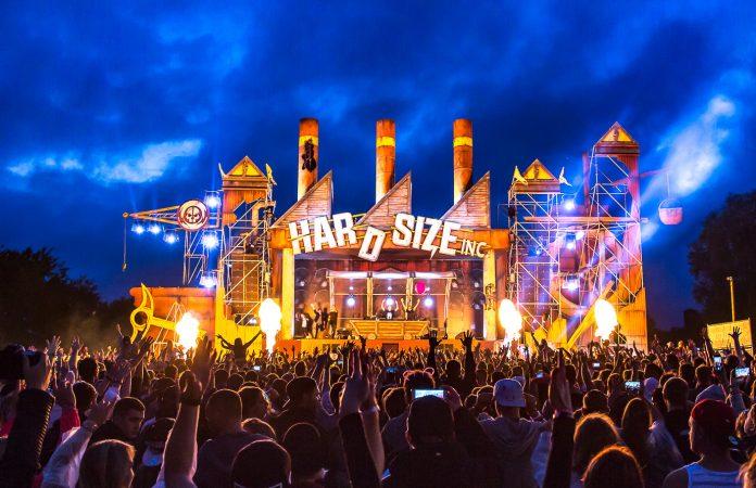 Electrisize 2017 Hardsize Stage