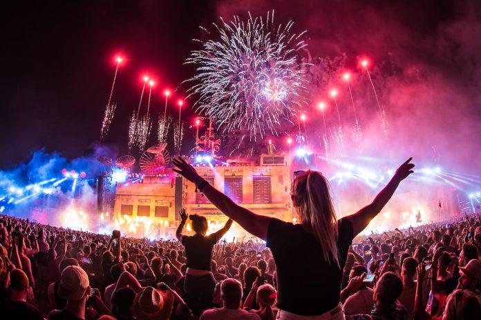 Parookaville 2018 Feuerwerk