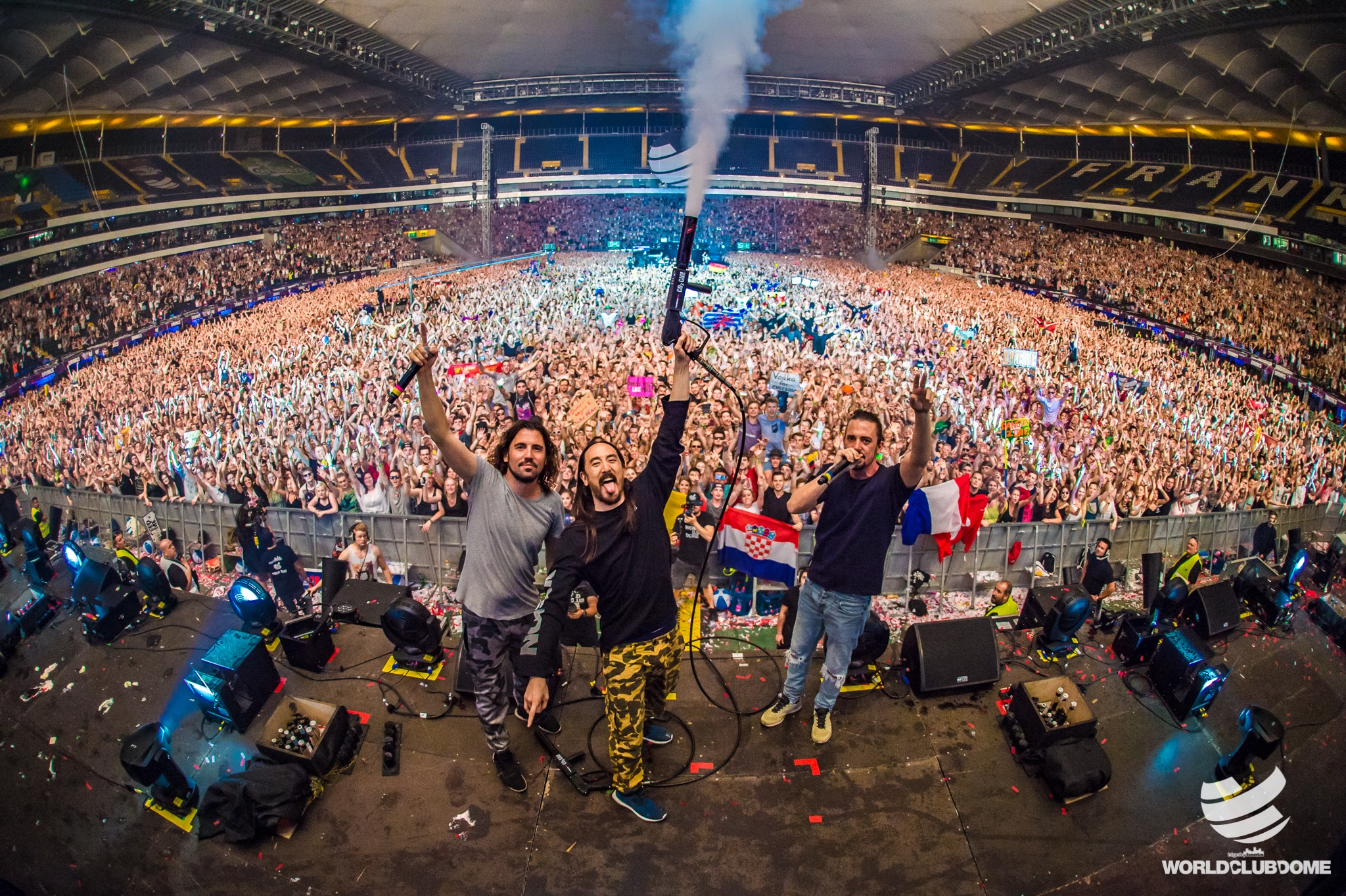 World Club Dome Steve Aoki