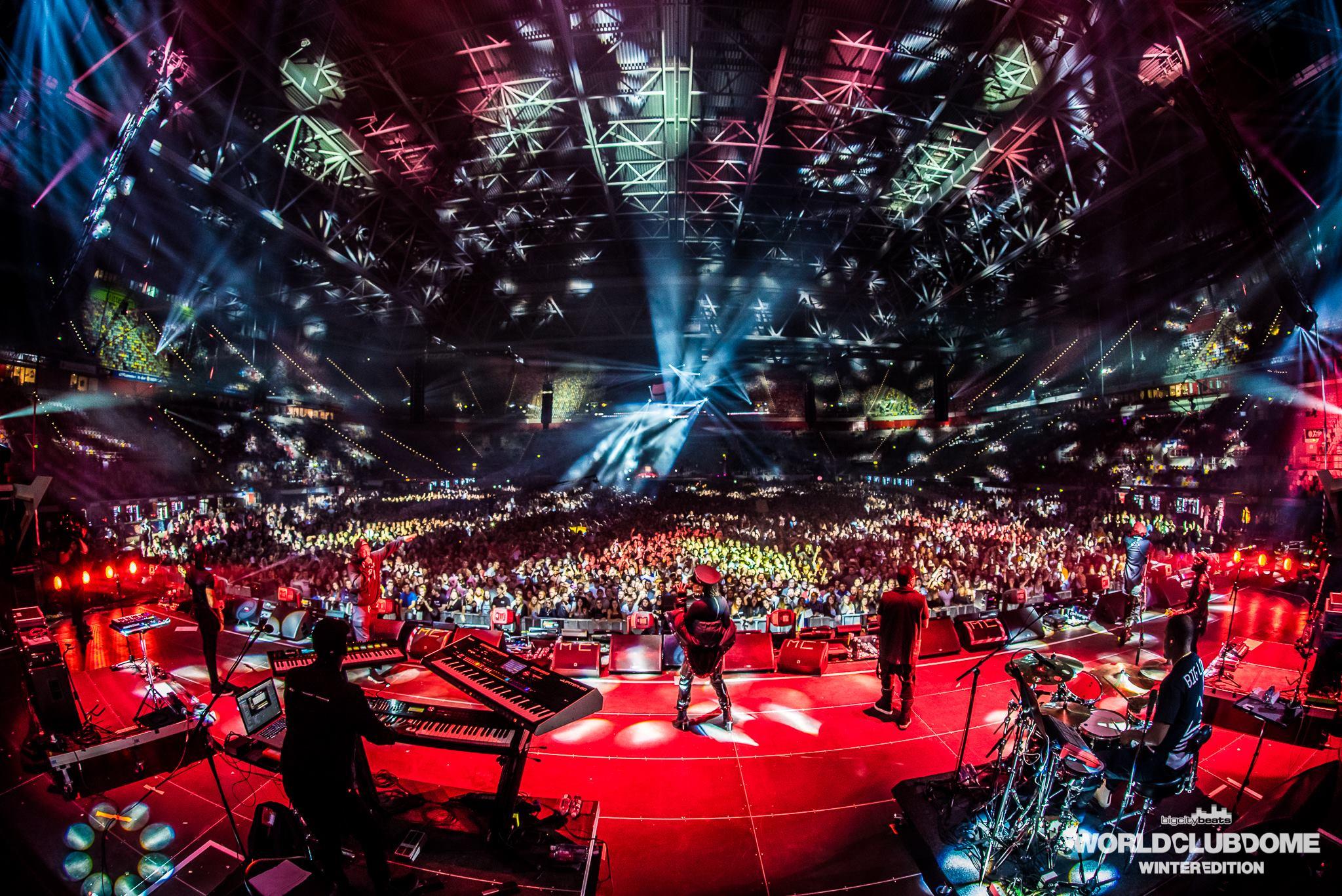 World Club Dome Winter Edition Black Eyed Peas