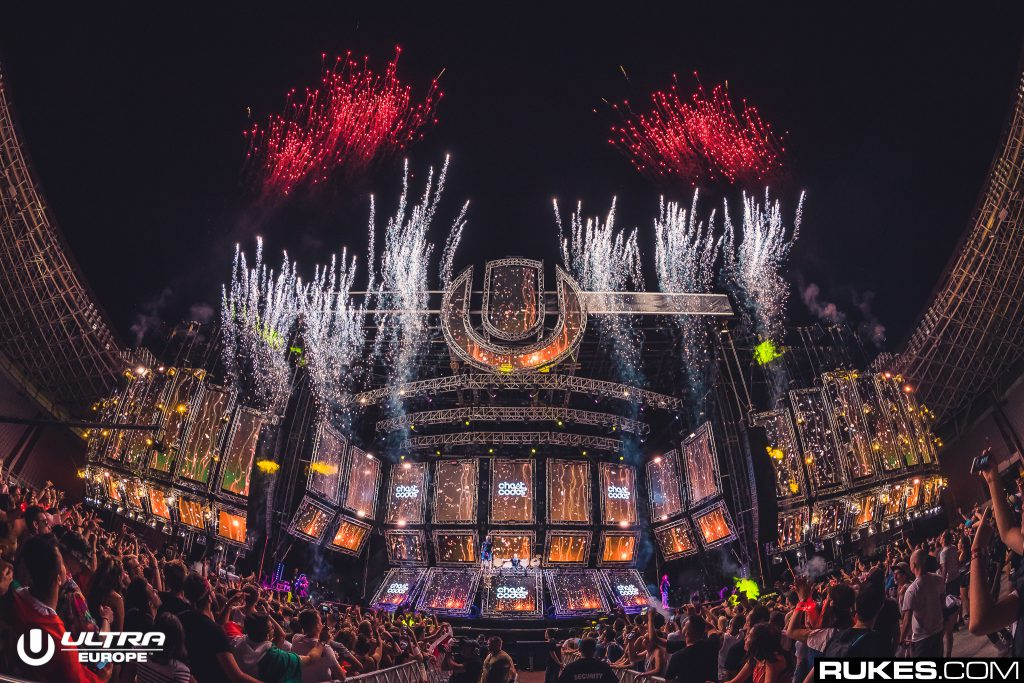 Ultra Europe Mainstage 2018