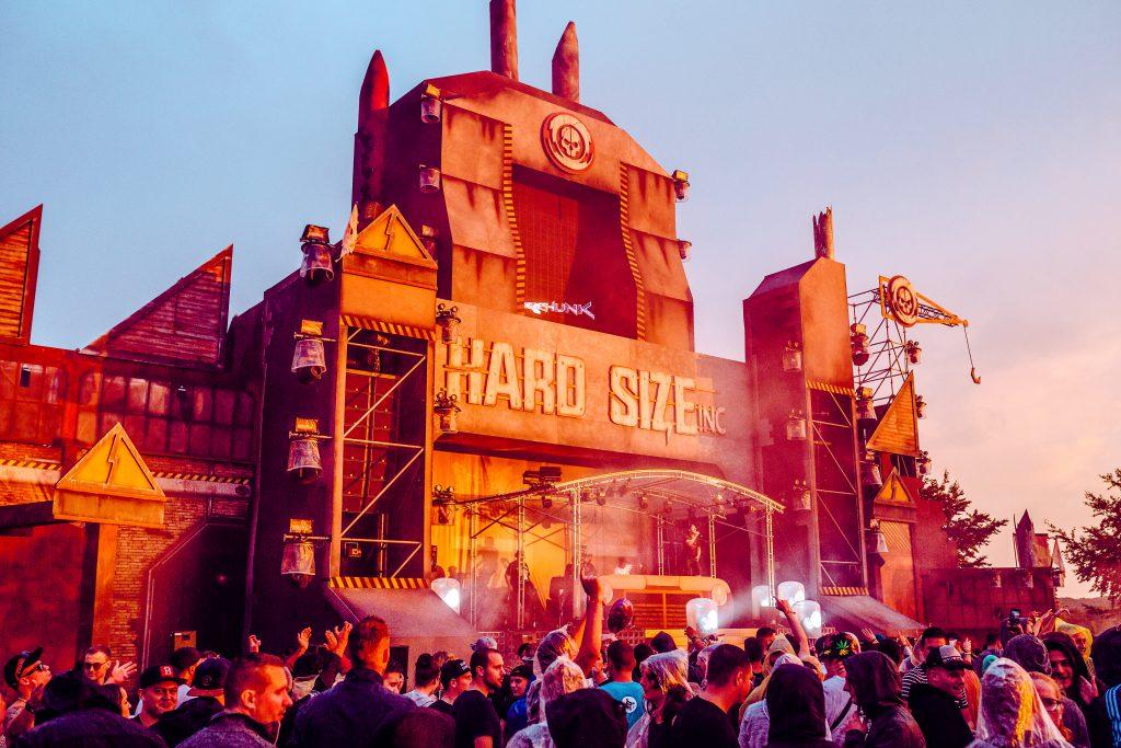 Hardsize Stage Electrisize Festival
